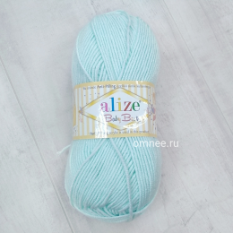 Alize Baby best 514 (мята), 100гр. 240м. 90%акрил, 10% бамбук