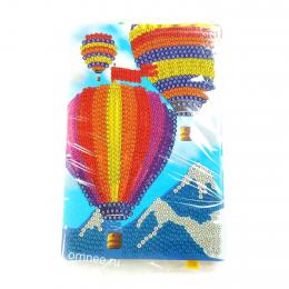 Алмазная мозаика ''воздушные шары'', 10*15 см, частичная выкладка
