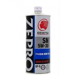 Масло моторное IDEMITSU ZEPRO Eco 5W30 SN/CF 1л 602
