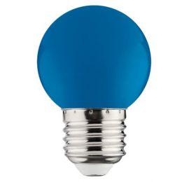 Лампа LED 1W E27 синя/10/250 Rainbov