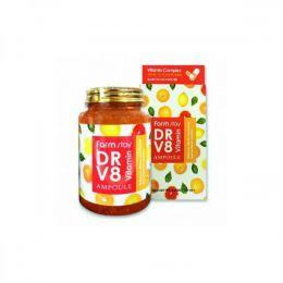 FARM STAY Многофункциональная ампульная витаминная сыворотка DR V8 Vitamin Ampoule