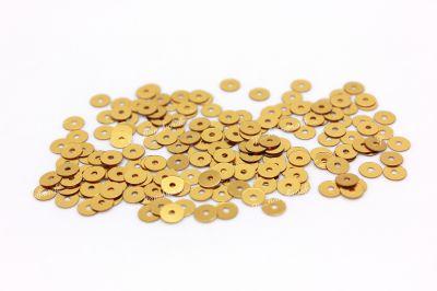 Пайетки плоские 2011 Metallizzati 3 мм 3 гр (Италия)