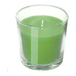 СИНЛИГ Ароматическая свеча в стакане, Яблоко и груша 7,5 см