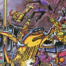 Класические черепашки ниндзя. Война в городе