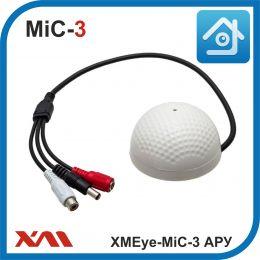 XMEye-MIC3. АРУ. Активный микрофон для систем видеонаблюдения.