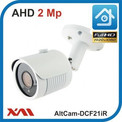AltCam DCF21IR.(Металл/Белая). 1080P. 2Mpx. Камера видеонаблюдения.