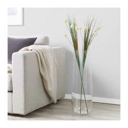 СМИККА Цветок искусственный, белый, 103 см