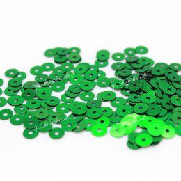 Пайетки плоские 7041 Metallizzati 4 мм 3 гр (Италия)