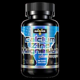 MAXLER, Calcium zinc magnesium, 90таб