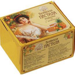 С пастила с ананасом (коробка) 200г.