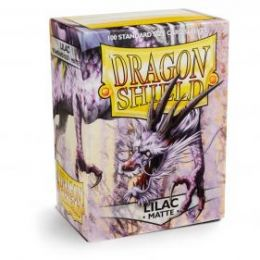 Протекторы Dragon Shield матовые сиреневые