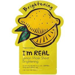 Тканевая маска с лимоном Tony Moly I'm Real 21гр