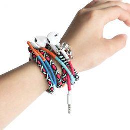 Наушники Ear плетёный кабель