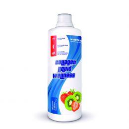 MYNUTRITION, Collagen liquid willness, Бутылка 1000мл. Клубника-киви