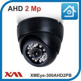 XMEye-300AHD2PB-2,8.(Пластик/Черная). 1080P. 2Mpx. Камера видеонаблюдения.