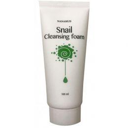 Пенка для умывания с улиточным муцином Snail Foam Cleansing 100 мл, NANAMUS