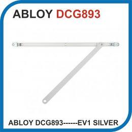ASSA ABLOY DCG893------EV1-. silver для DC840/860. Врезная скользящая тяга скрытого монтажа.