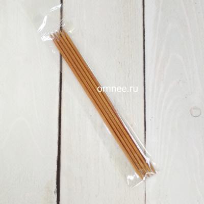 Спицы чулочные №2,25 мм, 13 см (5 шт), бамбук