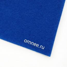 Фетр листовой жёсткий 2 мм, 20х30 см, цв.: 675 синий
