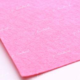 Фетр жесткий 1 мм 20см*30см розовый 1 шт/полиэстер