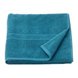 ФРЭЙЕН Банное полотенце, зелено-синий 70 х 140 см
