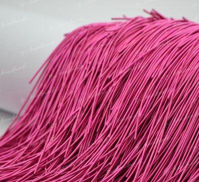 Канитель мягкая Baby Pink (Matte) 1 мм 5 гр (Индия)