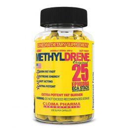 CLOMA PHARMA, Methyldrene жиросжигатель, банка 100капс