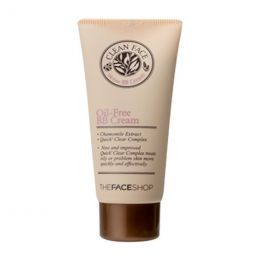 THE FACE SHOP Матирующий BB-крем для жирной кожи Clean Face Oil Control BB Cream