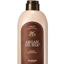 SKINFOOD шампунь с аргановым маслом