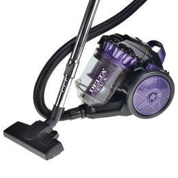 Пылесос 2000 Вт DELTA LUX DL-0830 фиолетовый с черным