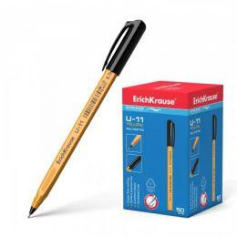 Ручка ErichKrause U-11, черная