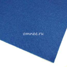 Фетр листовой мягкий 1,2 мм, 20х30 см, цв.: 675 синий