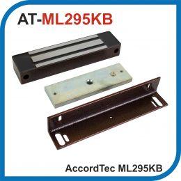 Accordtec. ML-295KВ. Коричневый. Электромагнитный замок с уголком. Усилие 300 кг.