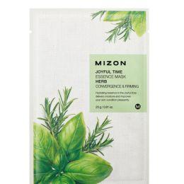 MIZON Тканевая маска для лица с комплексом травяных экстрактов Joyful Time Essence Mask Herb