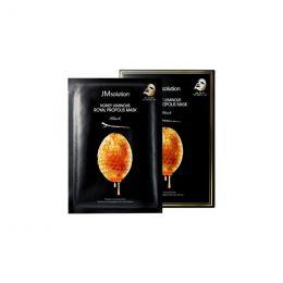 JMSOLUTION Honey Luminous Royal Propolis Mask 30g Антивозрастная тканевая маска с прополисом