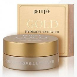 Petitfee Гидрогелевые патчи для кожи вокруг глаз Gold Hydrogel Eye Patch
