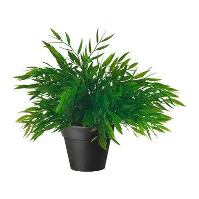 ФЕЙКА Искусственное растение в горшке, Комнатный бамбук, 10 см