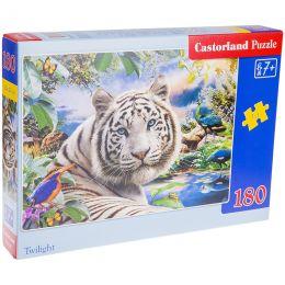 Пазлы 180эл Белый тигр.