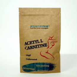 MYNUTRITION, L-Carnitine, дойпак 100гр, Натуральный вкус.