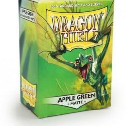 Протекторы Dragon Shield матовые Apple Green
