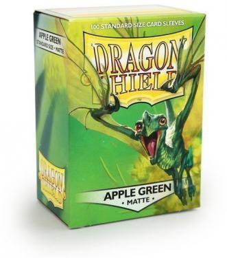 Протекторы Dragon Shield матовые Apple Green