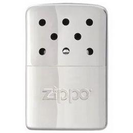 Каталитическая грелка ZIPPO, анодированный алюминий с покрытием High Polish Chrome, серебристая, глянцевая