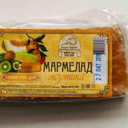 Мармелад трехслойный ЭКЗОТИКА,130 гр.