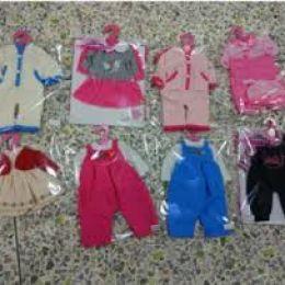 """Одежда для пупса """"BB"""" WEI-GCM6 (96шт/2) 8 видов, на вешалке, в пак"""