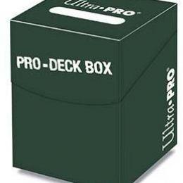 Пластиковая коробочка Ultra-Pro «PRO 100+» зеленая