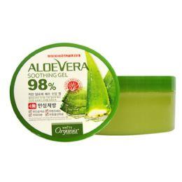 White organia natural cosmetics Универсальный увлажняющий гель с Алоэ Вера Смягчающий и Успокаивающий, 98% Алоэ, 300 гр.