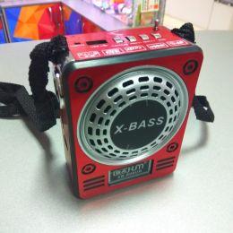 Радиоприемник WAXIBA 901/900 MicroSD/USB/AUX/Фонарь