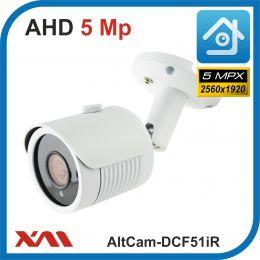 AltCam DCF51IR.(Металл/Белая). 1920P. 5Mpx. Камера видеонаблюдения.