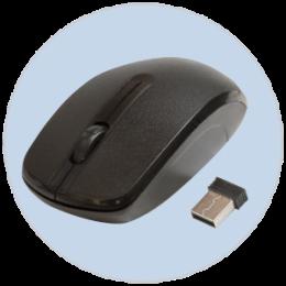 Мышь беспроводная Ritmix RMW-505 черная