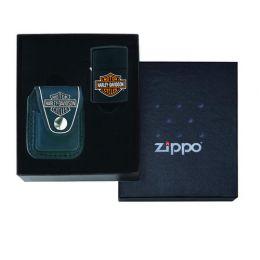 Набор ZIPPO Harley-Davidson®: зажигалка 218HD.H252 и чехол HDP6 в подарочной коробке